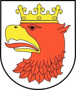 Wappen der Stadt Police in Polen
