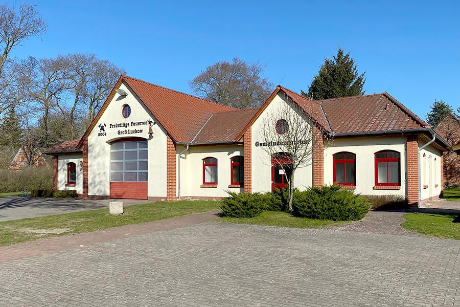 Groß Luckow - Das Gemeinde- und Feuerwehrzentrum
