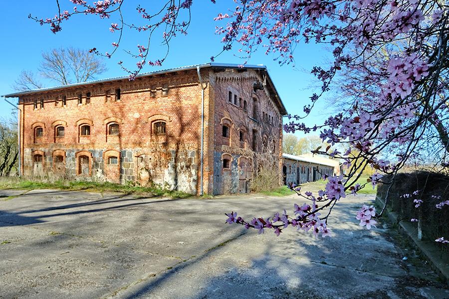 Groß Luckow - Landwirtschaft - altesn Backsteingebäude