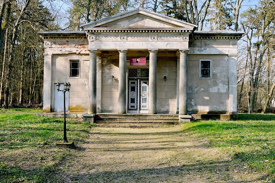 Koblentz - Mausoleum im klassizistischen Stil