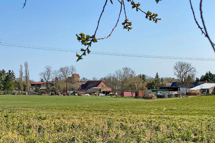 Fahrenwalde - Dorflandschaft