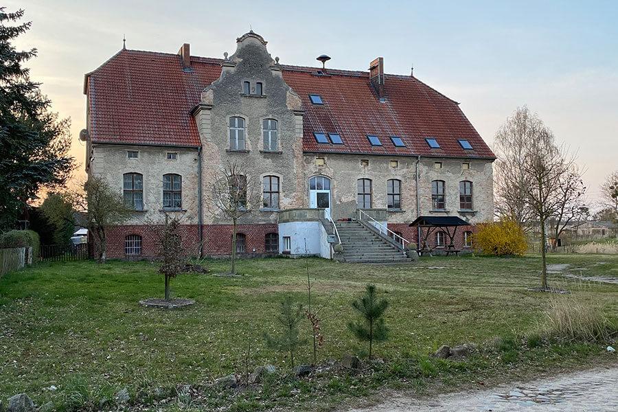 Schönwalde - Gutshaus Eingangsbereich