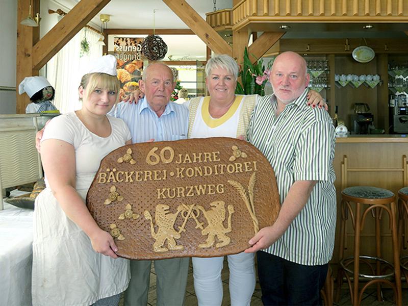 01.07.2016 - 60 Jahre Bäckerei und Café Kurzweg