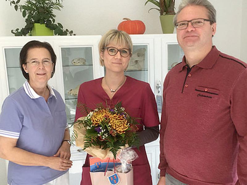 05.10.2018 - Besuch bei der Tierarztpraxis Monique Werner