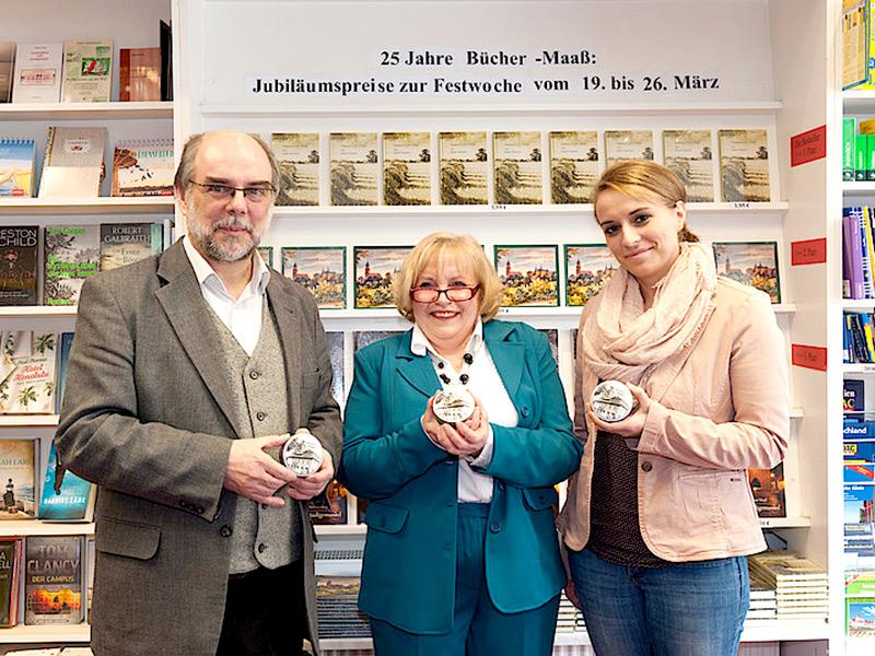 19.03.2016 - Geschäftsjubiläum Buchhaus Maaß